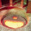 Melting raw ingots